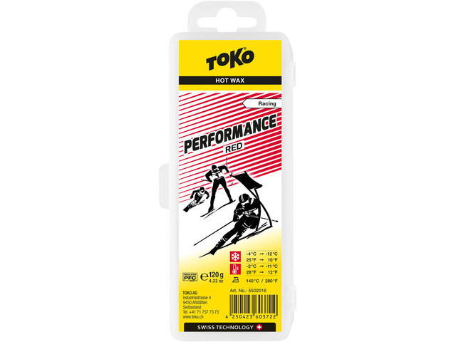Toko Performance Hot Wax Rojo 120g